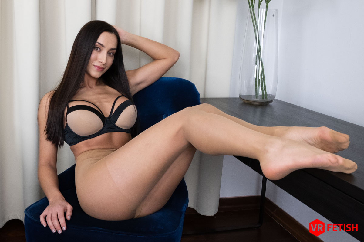 pretty Czech girl with lonng legs and sexy feet