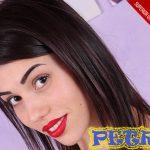 beautiful Italian girl Petra in amateur VR foot fetish video